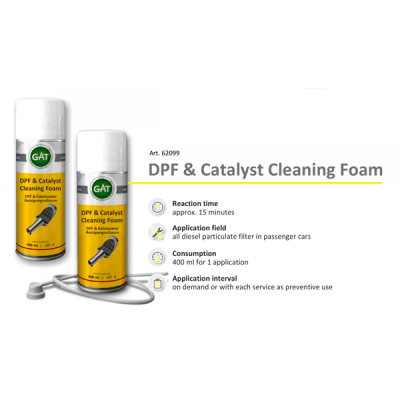 Чистка Сажевого - DPF & Catalyst Cleaning Foam