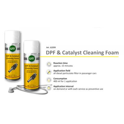 Чистка Сажевого - DPF & Catalyst Cleaning Foam