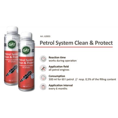 Чистка инжектора - Petrol System Clean & Protect GAT