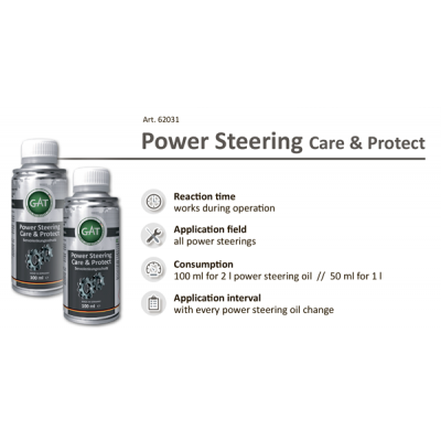 Присадка в ГУР - Power Steering Care & Protect