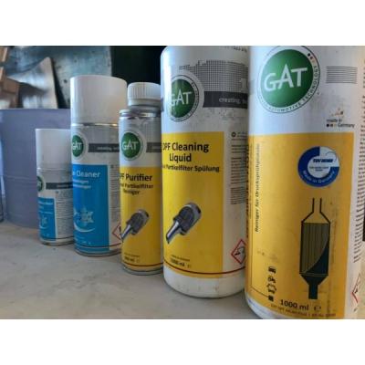 Жидкость для Промывки Сажевого Фильтра - DPF Cleaning Liquid GAT